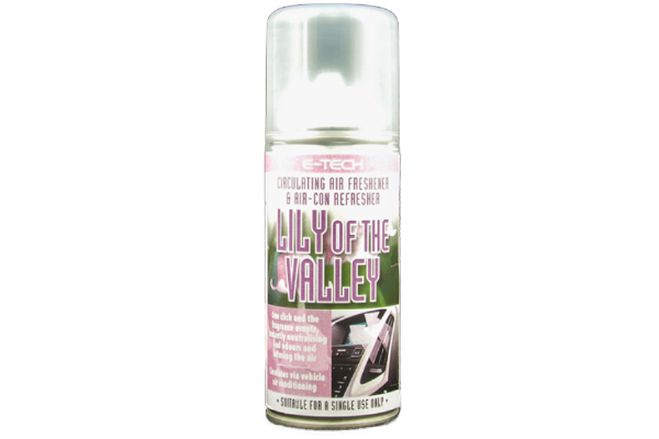 Jaguar Lily of the Valley Circulating Air Freshener & Air Conditioning Refresher